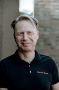 Dirk De Meulemeester, zaakvoerder Mobile Clean Gentbrugge Opti-Coat Pro België