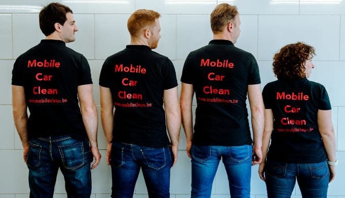 Het Mobile Clean team bestaat uit 4 gedreven medewerkers