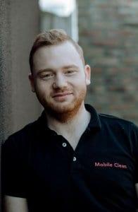 Kenneth De Meulemeester, teamlid Mobile Clean Gentbrugge Opti-Coat Pro Belgiëgge Opti-Coat Pro België