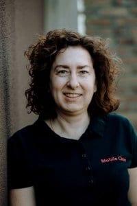 Katleen Doolaege zaakvoerder Mobile Clean