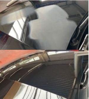 Lakcorrectie Mobile Clean Gentbrugge voor en na