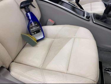 Lederen interieur auto zelf reinigen - webshop Mobile Clean