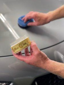 Mobile Clean - Waxen met Yellow Wax detail