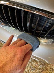 Mobile Clean - met simonis of polish kan je perfect alle chroom opblinken van je wagen