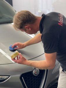 Mobile Clean - waxen met yellow wax 1